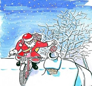 Trials-Bike-Santa