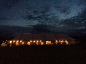 Marquee at Night